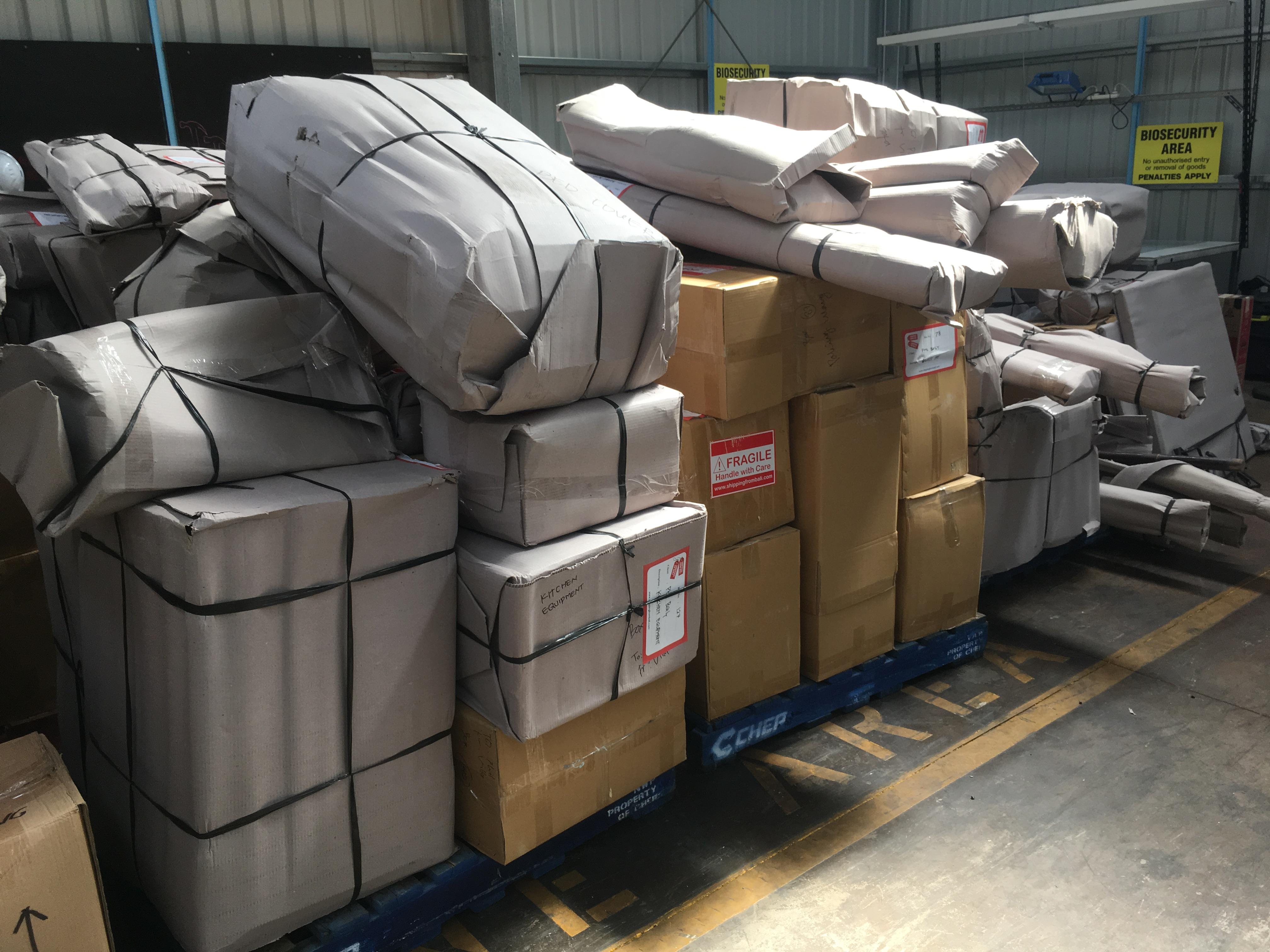 shipping Bali freight