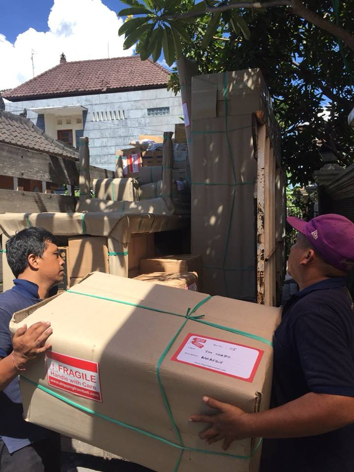 Transport household goods to Bali Warehouse