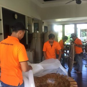 Jetfast Team Packing In Lombok