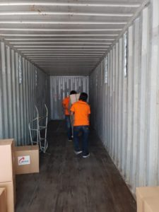 Container Stuffing Bali to Fremantle