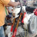 bali motorbike crating