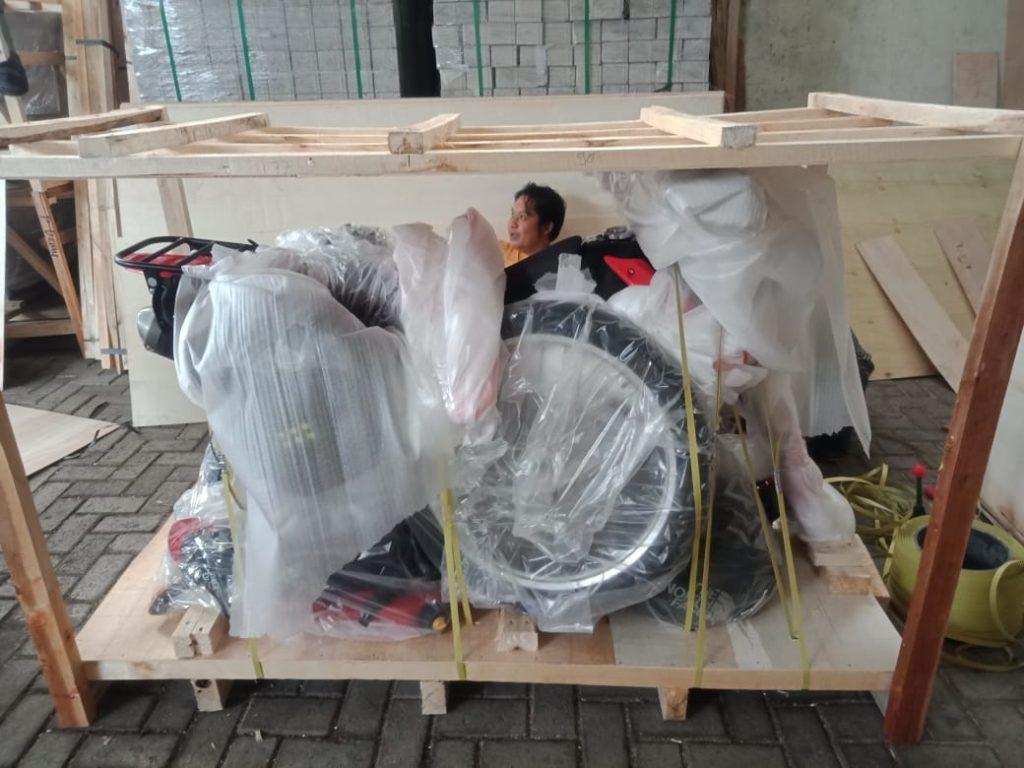 bali motorbike packing