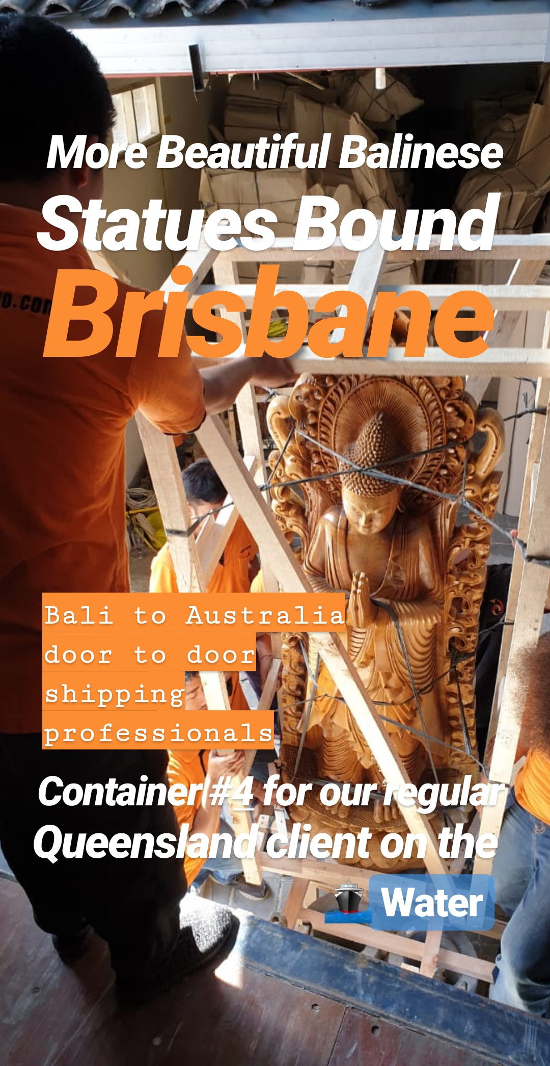 Bali Furniture to Brisbane