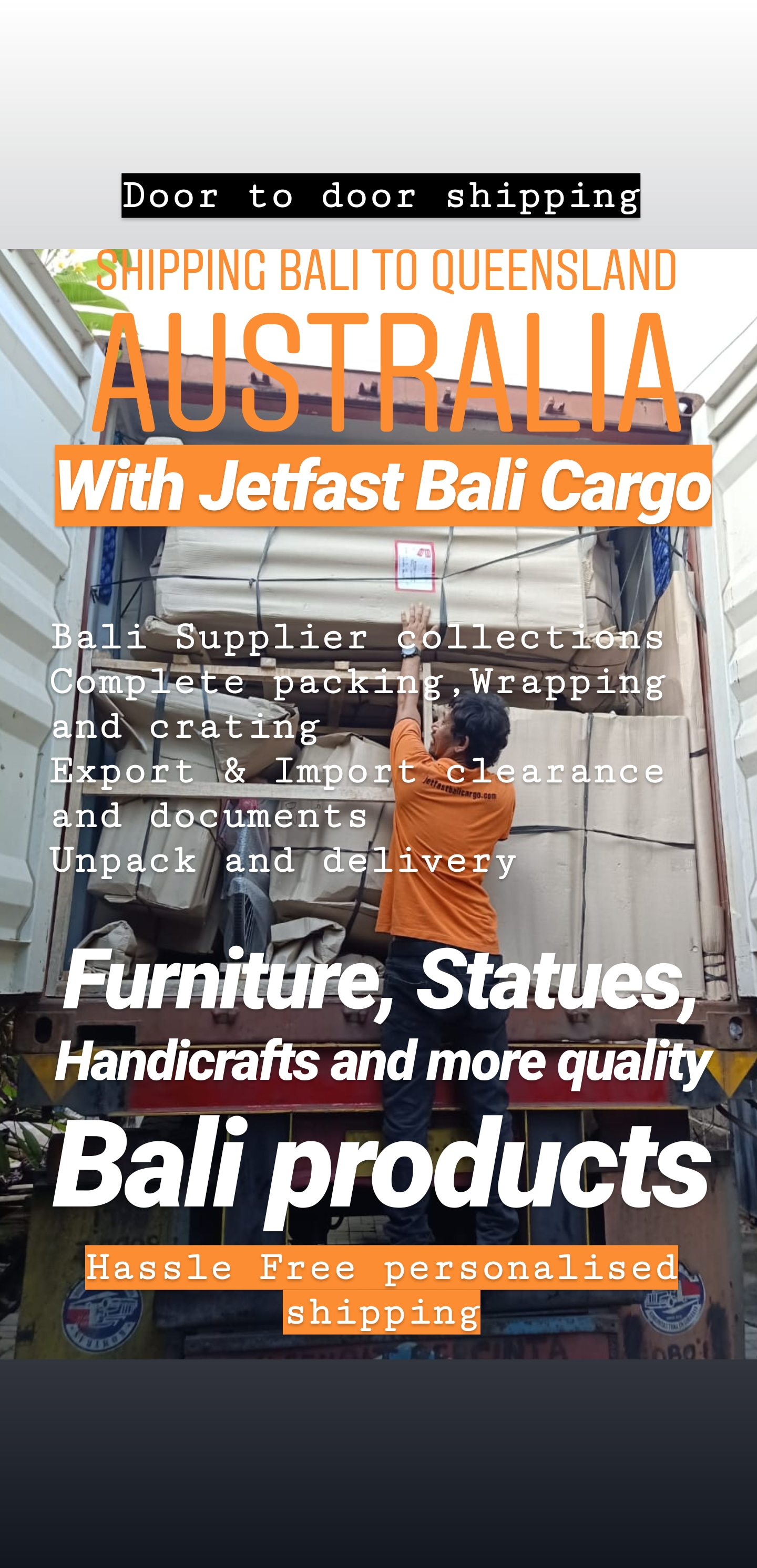 Bali Shipping Container