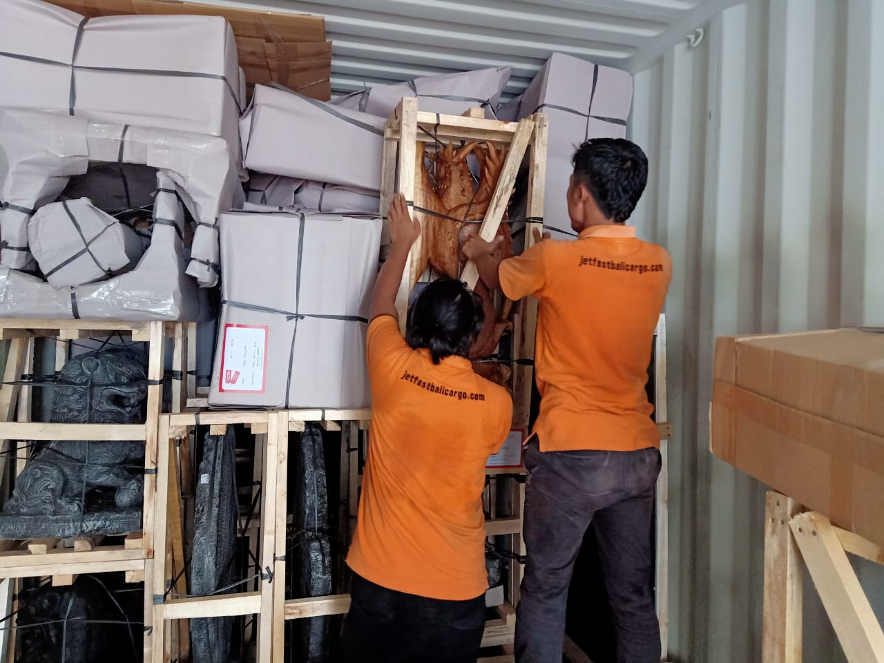 Shipping Furniture from Bali