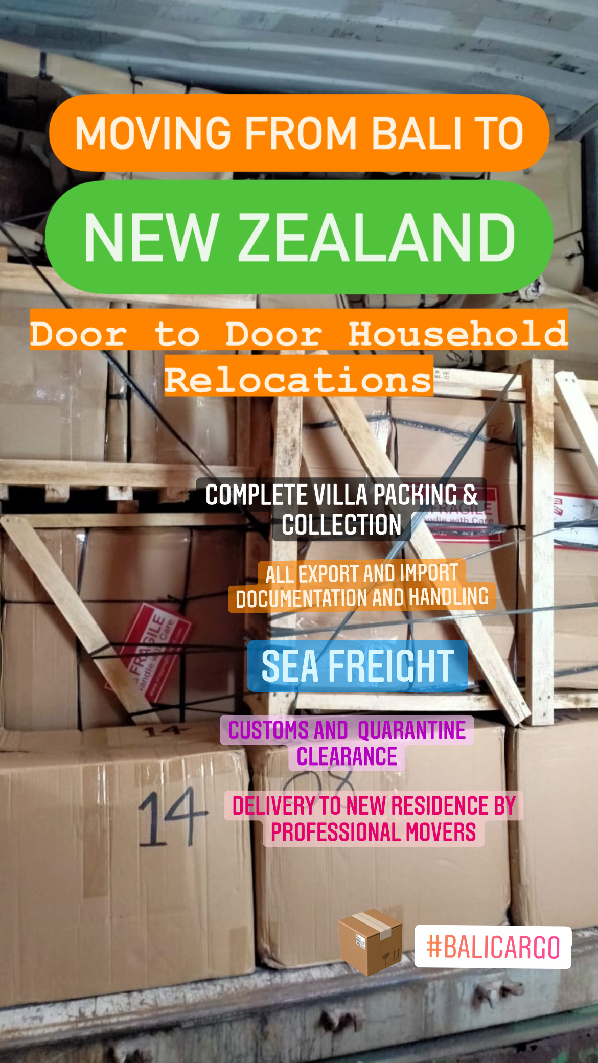 Moving from to New Zealand